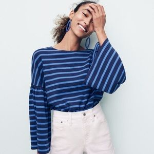 Bell sleeve J Crew top